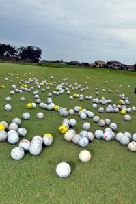 Balls on Golf Course